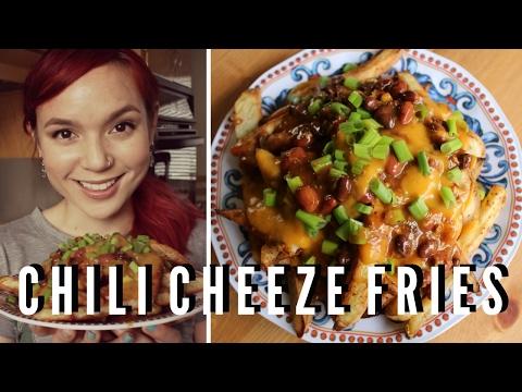 Chili Cheese Fries // Low-Fat Vegan