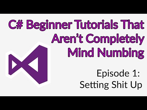 C# Tutorial | Setting Up Visual Studio 2017