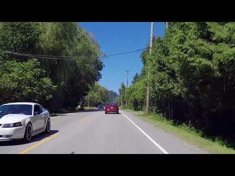 Driving to HARRISON Hot Springs Resort - British Columbia Canada - Vancouver Side Trip