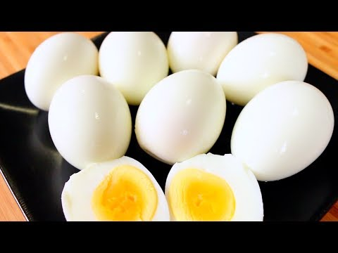 How to Make Perfect Hard-Boiled Eggs | How to Boil and Peel Eggs | Easy Way to Boil and Peel Eggs