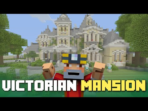 Minecraft Xbox One: Victorian Mansion Tour! (Finished Let's Build)