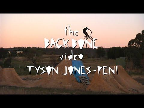 The Back Bone Video - Tyson Jones-Peni section