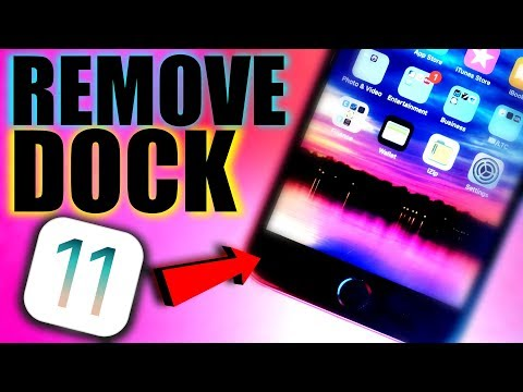 HOW TO REMOVE THE DOCK IN IOS 11 WORKING GLITCH / COOL IOS 11 TRICK/HACK REMOVE DOCK IN IOS 11.3