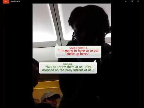 FRONTIER AIRLINES-Flight Attendant Bullies Passengers
