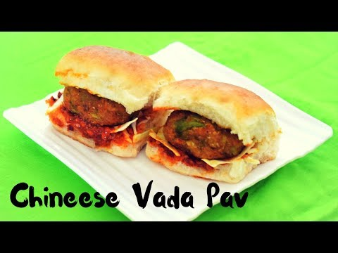 चटपटा मंचूरियन वड़ा पाव   Chinese Vada Pav   Indo-Chinese Food recipe   Food Connection