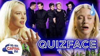 Zara Larsson Can't Name The Fifth Member Of One Direction | Quizface | Capital