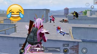 Trolling Blind Noobs 🤣😝   PUBG MOBILE FUNNY MOMENTS