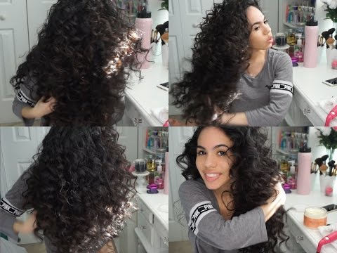 BIG CRAZY CURLS USING A WAND! UPDATED HAIR TUTORIAL