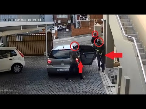 Funny Failed Robbery Caught On Camera | Thieves Struggle and Fail to Break In