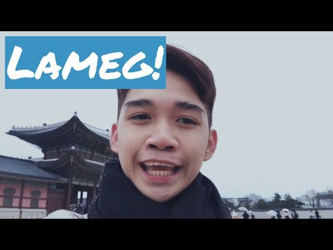 Vlog 03 : First Snow Experience #MarcusGoesToKorea | Marcus Chleone