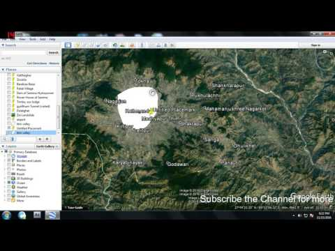 How to extract GIS/Excel data from Google Earth ???