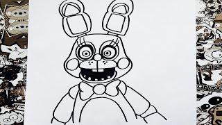 Como Dibujar A Freddy De Five Nights At Freddys World L How To Draw
