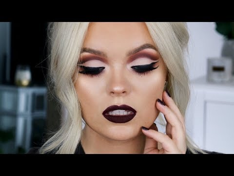 FALL Vampy Cut Crease Makeup Tutorial