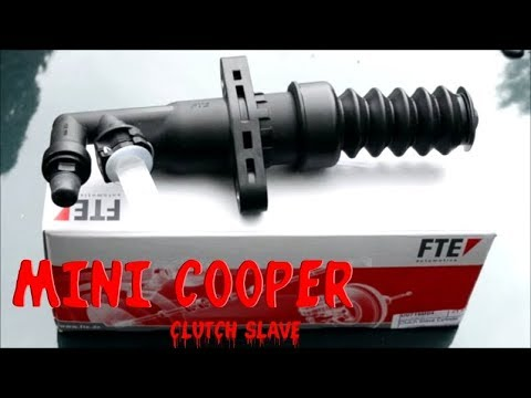 MINI Cooper Slave Cylinder Replacement and How To Bleed