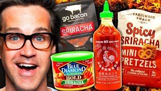 Sriracha Snack Taste Test