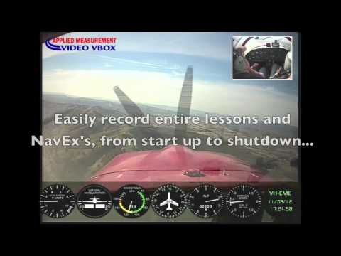 Cockpit Camera Video - VBOX Video Flight Recorder