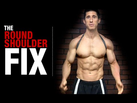 How to Fix Your Posture (NO MORE ROUNDED SHOULDERS!)
