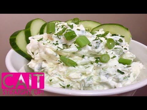 Cucumber Dip Recipe | Kentucky Benedictine Dip | Cait Straight Up