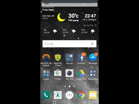 FEAT VPN Trên Android 2.3.6