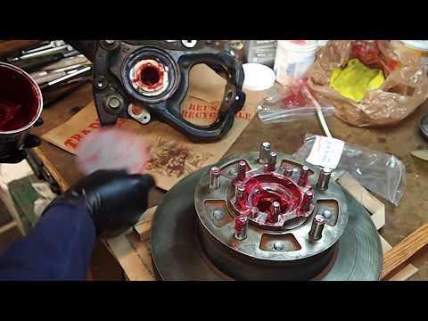 Hub Seal install, also greasing axle bearing & bushing.