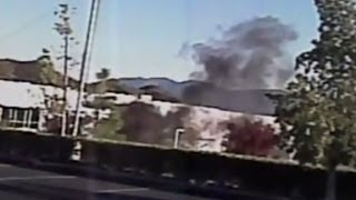 Walker's car ignited after 60 seconds?