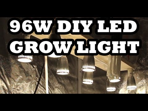 96w DIY LED Grow Light - How to build it for $57