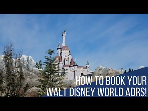 How to Book Walt Disney World Advanced Dining Reservations!