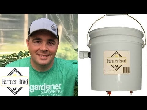 My Review of Farmer Brad's Automatic Chicken Waterer with Nipple Drippers