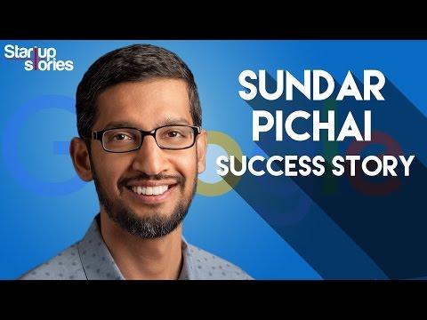Sundar Pichai Success Story | GOOGLE CEO Biography | Startup Stories India