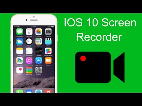 HOW TO RECORD YOUR IOS 10+ iPhone SCREEN FOR FREE