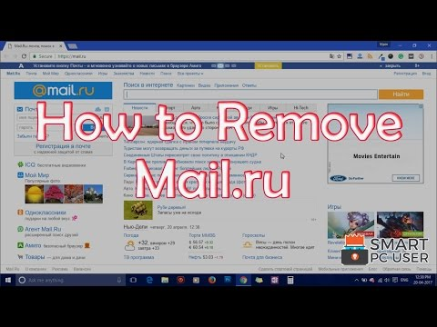How to Remove Mail.ru from All Browsers