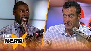 Greg Jennings on the most impressive rookie QB, Khalil Mack to Packers rumors | NFL | THE HERD