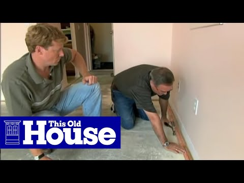 How to Install Wall-To-Wall Carpeting - This Old House