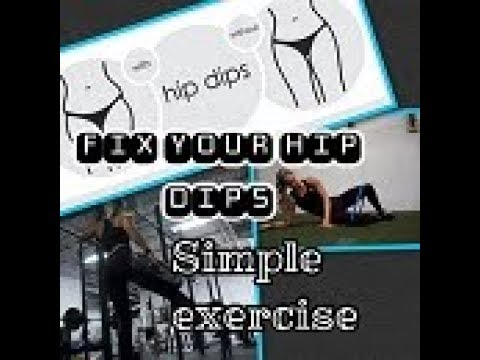 Exercises To FIX Your HIP DIPS/ Building a FULL Booty