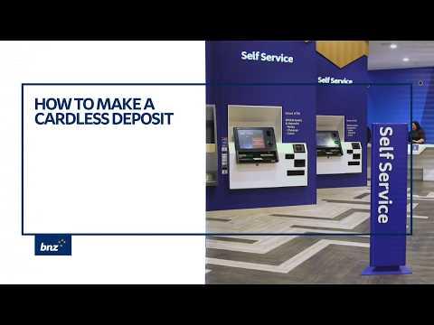 Smart ATM Cardless Deposit