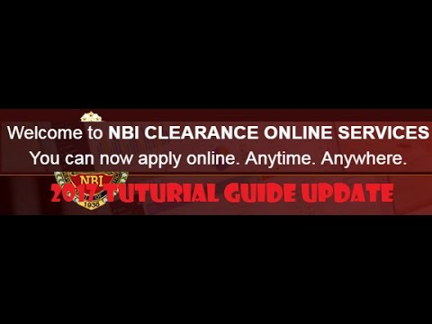 2017 UPDATES: HOW TO APPLY NBI CLEARANCE ONLINE FOR NEW APPLICANT.