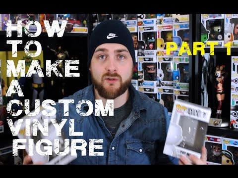 How to Make a Custom Vinyl Figure - Part 1