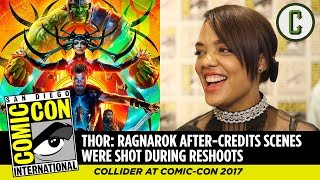 Thor: Ragnarok After-Credits Scenes Were Shot During Reshoots, Says Tessa Thompson