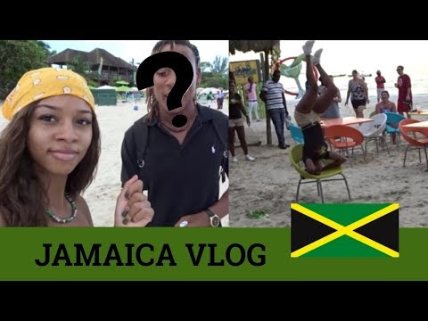 LIT JAMAICA VLOG 2018 ( this guy is out of line ....) & they started twerking !