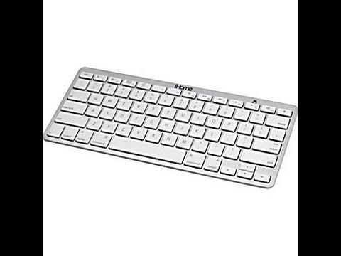 iHome Bluetooth Wireless Keyboard for iPad & Mac/MacBook