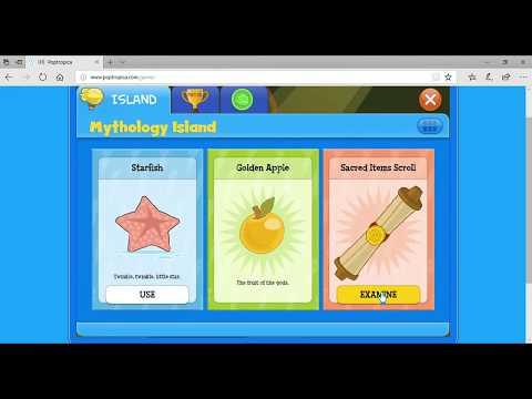 Poptropica|Lets Play|Mythology island pt.1