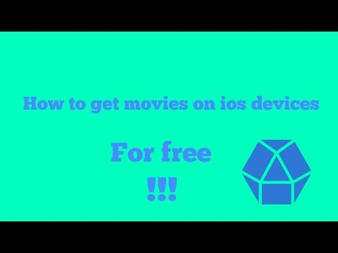 How to get free movies on apple devices/ compatible with iPad, iPhone and iPod touch