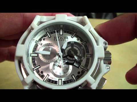 Invicta Ryan - Recalibrating Ronda Chronograph Quartz Movement in a Watch
