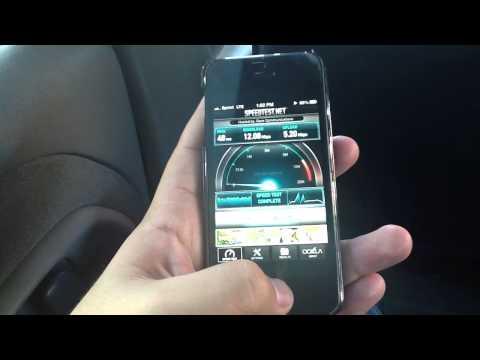 Sprint iPhone 5 LTE vs. Samsung GS3 4G Los Angeles