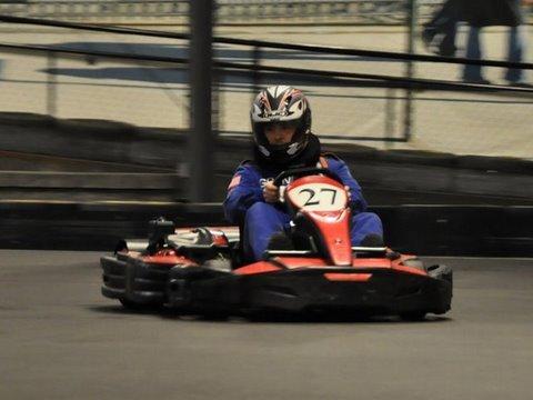 Go Kart Drift Lesson at Grand Prix New York - 07/03/2009