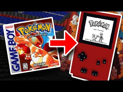 THIS IS UNREAL - Pokemon Red Remade in Minecraft