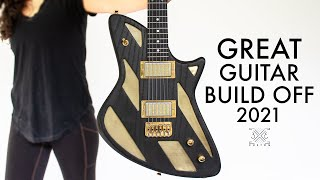 BRASS Inlay Guitar - Great Guitar Build Off Invitational Entry 2021