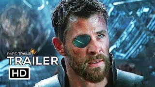 AVENGERS: INFINITY WAR Thor Stop Thanos Trailer NEW (2018) Marvel Superhero Movie HD