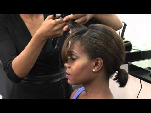 How to Curl Bangs Different Ways : Styling & Curling Hair
