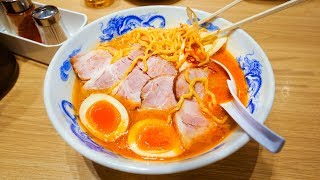 Japanese Food in Sapporo - MISO RAMEN + Conveyor Belt Sushi + LEVEL 40 SPICY Soup Curry!